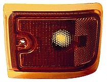 1996-2002 Chevrolet Chevy Express Corner Light (New Design / with Composite Lamps / Lower) - Left (Driver)