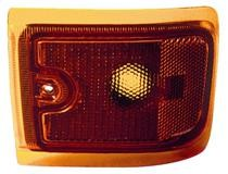 1996 - 2002 Chevrolet Chevy G Van Corner Light (New Design + with Composite Lamps + Lower) - Left (Driver)