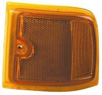 1996 - 2002 GMC Savana Corner Light (New Design + with Composite Headlamps + 2-Piece Design + Upper) - Left (Driver)
