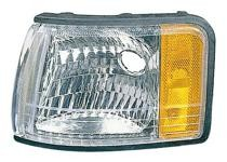 1997 - 1999 Cadillac Deville Corner Light Assembly Replacement / Lens Cover - Left (Driver)