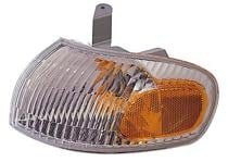 1998 - 2002 Chevrolet (Chevy) Prizm Front Signal + Marker + Park Light Assembly Replacement / Lens Cover - Left (Driver)