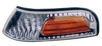 2001 - 2002 Ford Crown Victoria Corner Light Assembly Replacement / Lens Cover - Left (Driver)