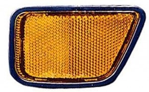 1997-2001 Honda CR-V Front Bumper Side Reflector - Left (Driver)