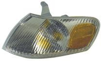 1998 - 2000 Toyota Corolla Corner Light Assembly Replacement / Lens Cover - Left (Driver)