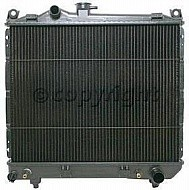 1992 - 1999 Dodge Dakota Radiator