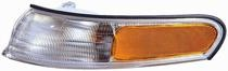 1995 - 1997 Mercury Mystique Parking Light Assembly Replacement / Lens Cover - Left (Driver)