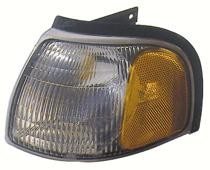 1998 - 2000 Mazda B2500 Corner Light Assembly Replacement / Lens Cover - Left (Driver)