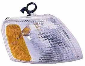 1998-2001 Volkswagen Passat Corner Light (Park/Signal Combination / White Lens)- Right (Passenger)