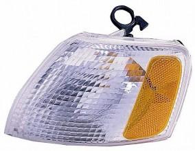 1998-2001 Volkswagen Passat Corner Light (Park/Signal Combination / White Lens) - Left (Driver)