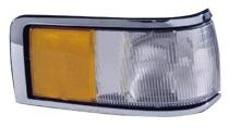 1990 - 1994 Lincoln Town Car Corner Light Assembly Replacement / Lens Cover - Left (Driver)