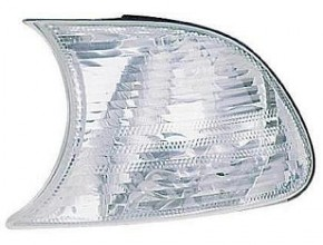 2000-2000 BMW 323i Parking / Signal / Marker Light (Coupe Convertible / White Lens) - Left (Driver)