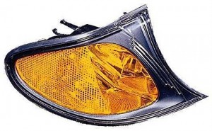 2002-2005 BMW 325i Parking / Signal / Marker Light (Park/Signal/Marker Combo / Sedan / without Bright Trim / Yellow) - Right (Passenger)