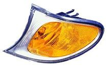 2002 - 2005 BMW 330i Parking + Signal + Marker Light (Park/Signal/Marker Combo + Sedan + with Bright Trim) - Left (Driver)