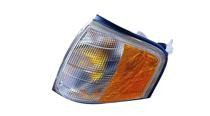 1997 - 2000 Mercedes Benz C230 Parking + Signal Light Assembly Replacement / Lens Cover - Left (Driver)