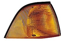 1994 - 1995 BMW 325i Parking + Signal Light Assembly Replacement / Lens Cover - Right (Passenger)