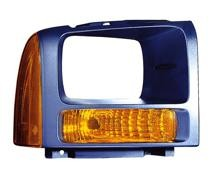 2005 Ford F-Series Super Duty Pickup Parking + Signal Light Assembly Replacement / Lens Cover - Right (Passenger)