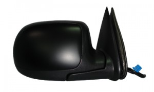 2003-2006 Chevrolet Chevy Avalanche Side View Mirror (with Body Cladding / Heated / Power Remote / without Dimmer) - Right (Passenger)