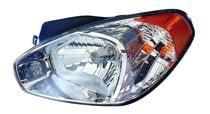 2006 - 2011 Hyundai Accent Headlight Assembly - Left (Driver)