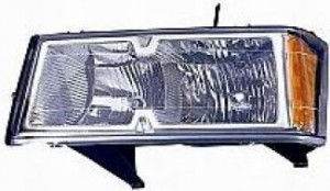 2005-2007 Chevrolet (Chevy) Colorado Headlight Assembly - Left (Driver)