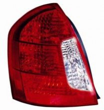 2006 - 2011 Hyundai Accent Tail Light Rear Lamp - Left (Driver)