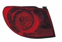 2007 - 2010 Hyundai Elantra Rear Tail Light Assembly Replacement / Lens / Cover - Left (Driver)