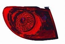2007-2010 Hyundai Elantra Tail Light Rear Lamp - Left (Driver)