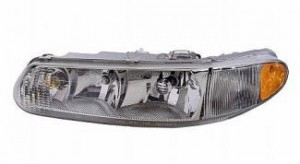 1997-2005 Buick Century Headlight Assembly - Left (Driver)