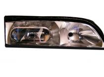 2001 - 2003 Infiniti QX4 Fog Light Assembly Replacement Housing / Lens / Cover - Left (Driver)