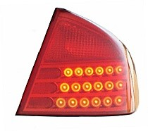 2003 - 2004 Infiniti G35 Rear Tail Light Assembly Replacement / Lens / Cover - Right (Passenger)