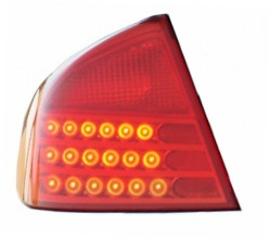 2003-2004 Infiniti G35 Tail Light Rear Brake Lamp - Left (Driver)