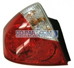 2006-2007 Infiniti M45 Tail Light Rear Brake Lamp - Left (Driver)