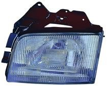 1999 - 2002 Isuzu Trooper + Trooper II Front Headlight Assembly Replacement Housing / Lens / Cover - Left (Driver)
