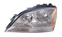 2005 - 2006 Kia Sorento Headlight Assembly (OEM / without Sport Package) - Left (Driver)