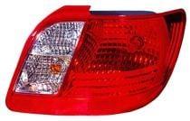 2006 - 2011 Kia Rio Tail Light Rear Lamp - Right (Passenger)