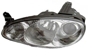2001-2004 Mazda MX-5 Miata Headlight Assembly - Left (Driver)