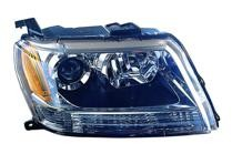 2006 - 2008 Suzuki Vitara Front Headlight Assembly Replacement Housing / Lens / Cover - Right (Passenger)