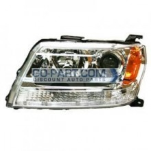 2006-2008 Suzuki Vitara Headlight Assembly - Left (Driver)