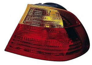 2001-2003 BMW 330i Tail Light Rear Lamp (Coupe / E46 / Outer Carrier Assembly / to 3/03) - Right (Passenger)