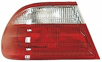 2000 - 2002 Mercedes Benz E320 Rear Tail Light Assembly Replacement / Lens / Cover - Left (Driver)