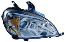 2002 - 2005 Mercedes Benz ML500 Front Headlight Assembly Replacement Housing / Lens / Cover - Right (Passenger)