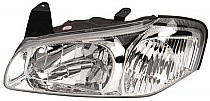 2000 - 2001 Nissan Maxima Headlight Assembly (from 9/99 + not 20th Anniversary Edition + with Bulb) - Left (Driver) Replacement