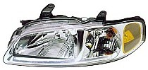 2000 - 2001 Nissan Sentra Headlight Assembly - Left (Driver)