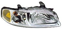 2000 - 2001 Nissan Sentra Front Headlight Assembly Replacement Housing / Lens / Cover - Right (Passenger)