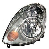 2003 - 2004 Infiniti G35 Headlight Assembly (With Bulb / Halogen) - Left (Driver)