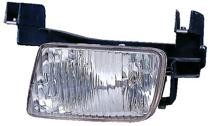 1998 - 1999 Nissan Altima Fog Light Assembly Replacement Housing / Lens / Cover - Left (Driver)