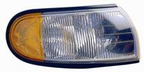 1996 - 1998 Mercury Villager Parking + Marker Light Assembly Replacement / Lens Cover - Left (Driver)