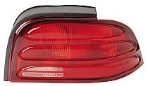 1994 - 1995 Ford Mustang Rear Tail Light Assembly Replacement / Lens / Cover - Right (Passenger)