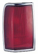 1990 - 1997 Lincoln Town Car Rear Tail Light Assembly Replacement / Lens / Cover - Left (Driver)
