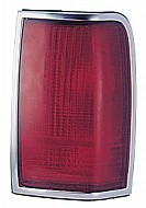 1990 - 1997 Lincoln Town Car Rear Tail Light Assembly Replacement / Lens / Cover - Right (Passenger)