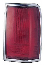 1990-1997 Lincoln Town Car Tail Light Rear Lamp - Right (Passenger)